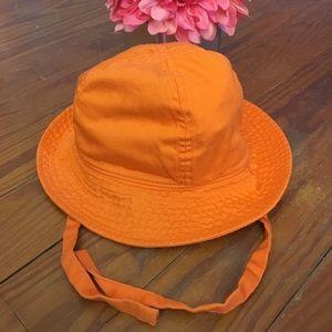 Hanna Andersson Orange Sun Hat